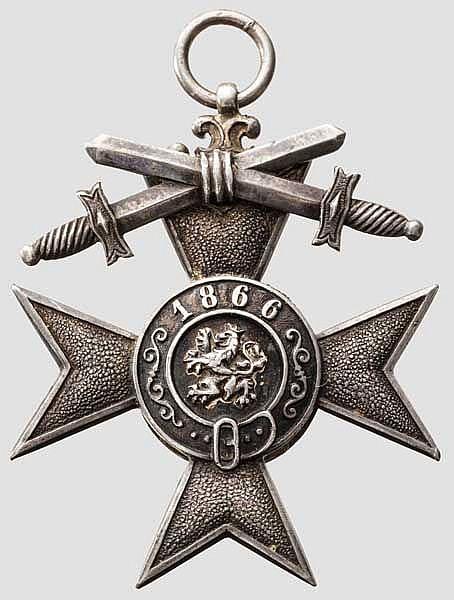 Militär Verdienst Kreuz 2. Klasse mit Schwertern des 2. Modells 1905 - 1913