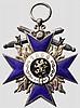 Militär Verdienst Orden - Kreuz 4. Klasse mit Schwertern in Weiss-Fertigung
