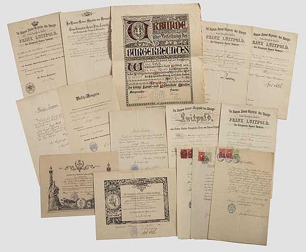 Geheimer Kanzleirat Joseph Krick - Urkundengruppe des Geheimen Registrators im Kriegsministerium