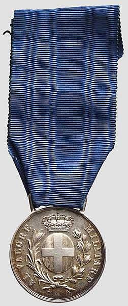 Luftwaffen-Major und Jagdflieger-Held Carlo Ruspoli Prinz von Poggio Suasa - Silberne Tapferkeitsmedaille