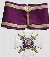 Zivil- und Militärverdienstorden vom Römischen Adler - Kommandeurkreuz mit Schwertern