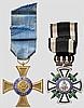 Hausorden von Hohenzollern - Kreuz der Ritter mit Schwertern und Kronenorden