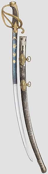 Prunkvoller Säbel für Offiziere der leichten Kavallerie