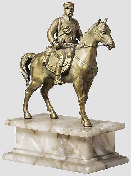 Reiterfigur eines polnischen Marschalls