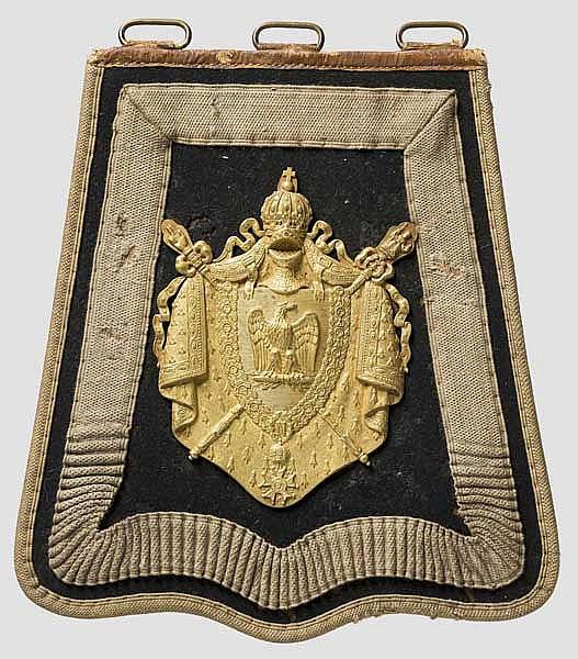 Säbeltasche für Mannschaften der Chasseurs à Cheval der Garde Napoleons III. ab 1854