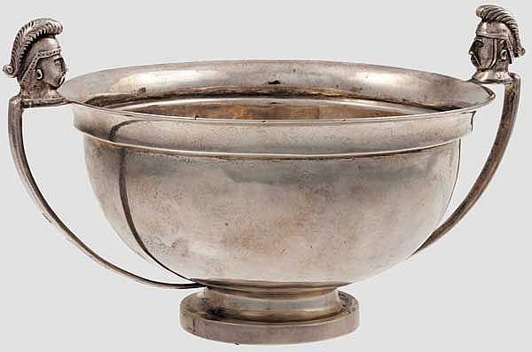 Silberne Schale, Meister Peter Egorov, Russland, datiert 1816