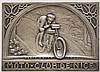 Erinnerungs- oder Sieger-Plakette des Moto-Club de Nice