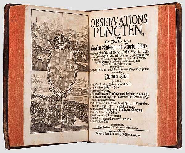 Graf Ludwig von Khevenhüller, Observationspuncten, Teil 1 und 2