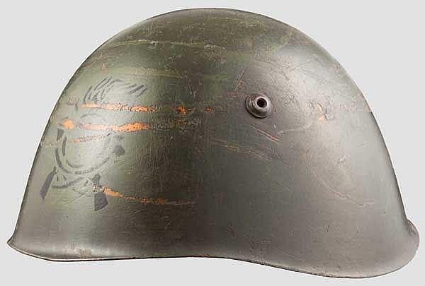 Helm M 33 der Kolonial-Infanterie