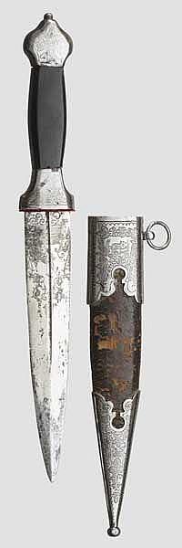 Jagdlicher Kinzal, Zlatoust um 1870/80