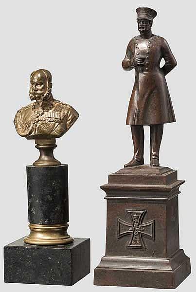 Kaiser Franz Joseph I. - kleine Tischbüste