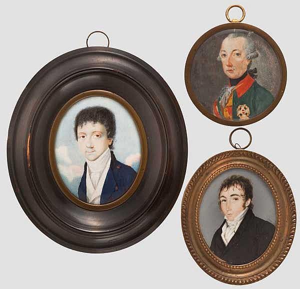Kaiser Joseph II. von Österreich (1741 - 1790) - Portraitminiatur