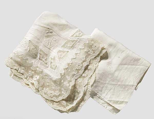 Kaiserin Elisabeth von Österreich - persönliches Taschentuch
