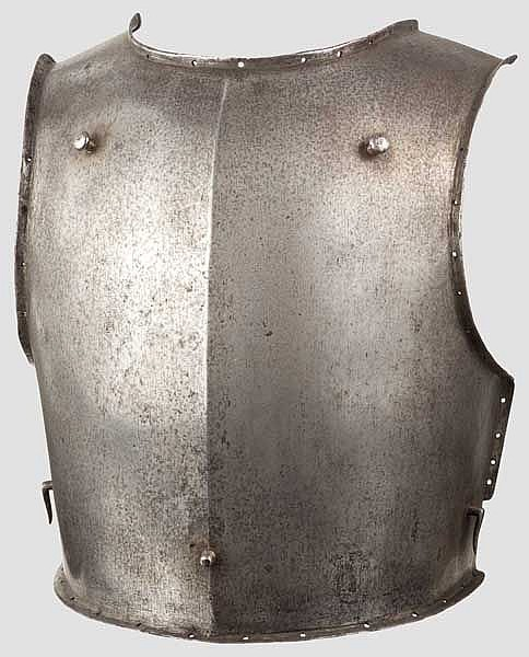 A Russian cuirass breastplate, mid-18th century