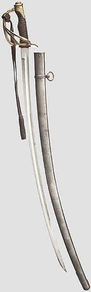 Säbel für Offiziere der Kavallerie M 1822