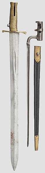 Zwei Bajonette