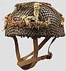 Helm für Fallschirmjäger, datiert 1944