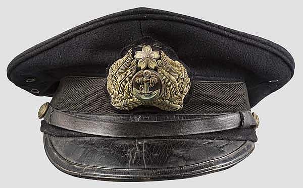 Schirmmütze für Angehörige der Marine, 20. Jhdt.