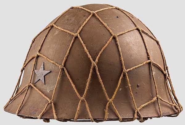 Stahlhelm aus dem 2. Weltkrieg