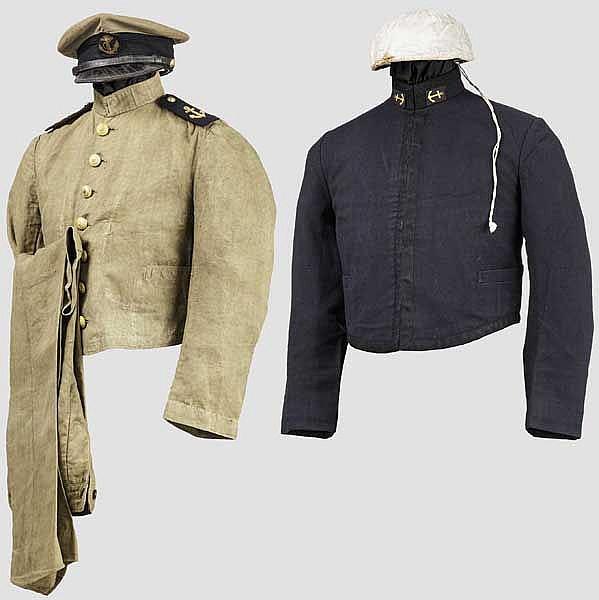 Uniformensemble eines Offiziersanwärters