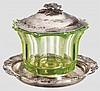 Grand Duchess Olga Nikolaevna Romanova (1822 - 1892) - a caviar bowl, Saint Petersburg, 1849