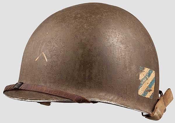 Helm M 1 der 3rd Infantry Division