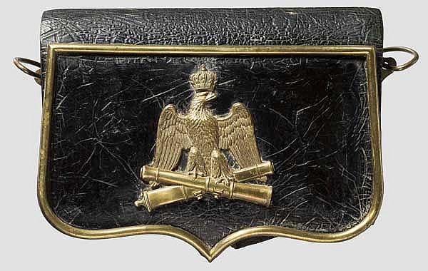 Kartuschkasten für Mannschaften der Artillerie der Garde Napoleons III.