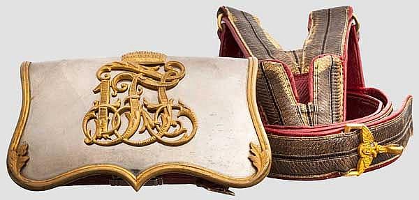 Kartuschkasten für Offiziere der Kavallerie