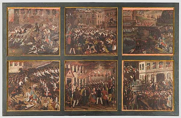 A group of March Revolution paintings, ca. 1849
