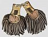 Ein Paar Parade-Epauletten für einen General, 20. Jhdt.