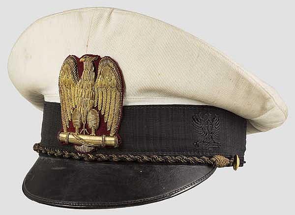Sommerschirmmütze für einen hohen Offizier ab 1938