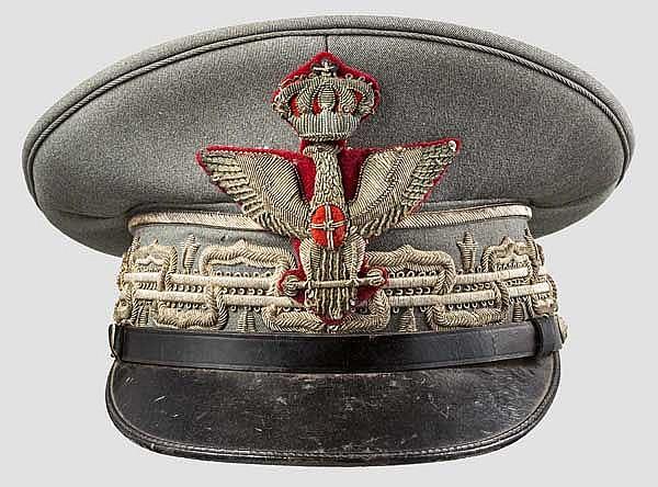 Schirmmütze für einen Divisionsgeneral oder Brigadier, 1939 - 1943