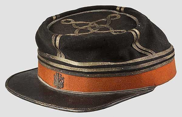 Kepi eines Generalstabsoffiziers um 1870