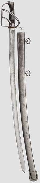 Kavalleriesäbel M 1788 für Mannschaften