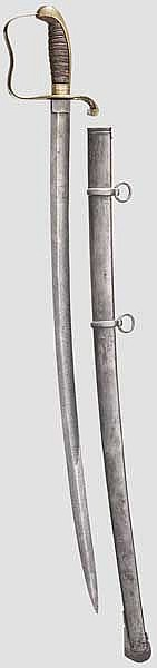 Säbel M 1855 für Offiziere der Infanterie