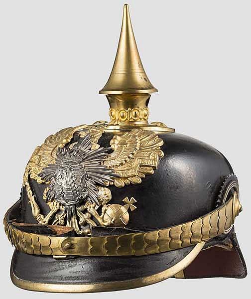 Helm für Offiziere des Anhaltischen Infanterie-Regiments Nr. 93