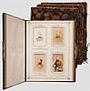 Geschenk-Fotoalbum Feld-Artillerie-Regiment von Peucker (1. Schlesisches) Nr. 6 und Zeichnungen
