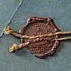 Gesiegelte Probe des Adlers für den Helm der Offiziere der Linienregimenter