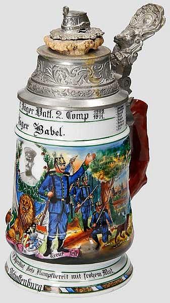 Bayern - 2. Comp./2. Bayr. Jäger Batl. Aschaffenburg 1909-1911