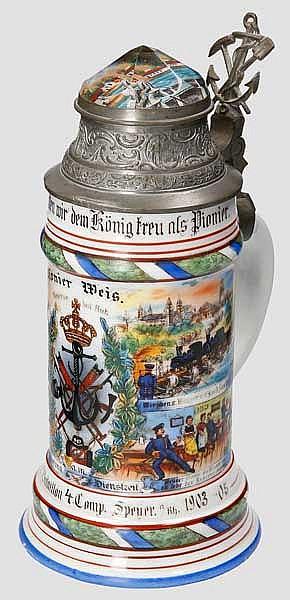 Bayern - 4. Comp./Kgl. Bayr. II. Pionier Bataillon 1903/05 Speyer