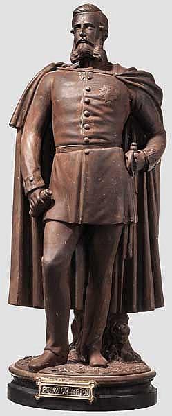 Kaiser Friedrich III. von Preußen - Künstler-Figur