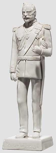 Porzellanfigur Kaiser Wilhelm II.