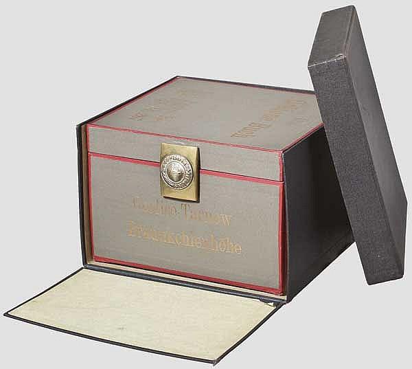 Das Goldene Buch des Reserve-Infanterie-Regiments Nr. 267 in originaler Kassette