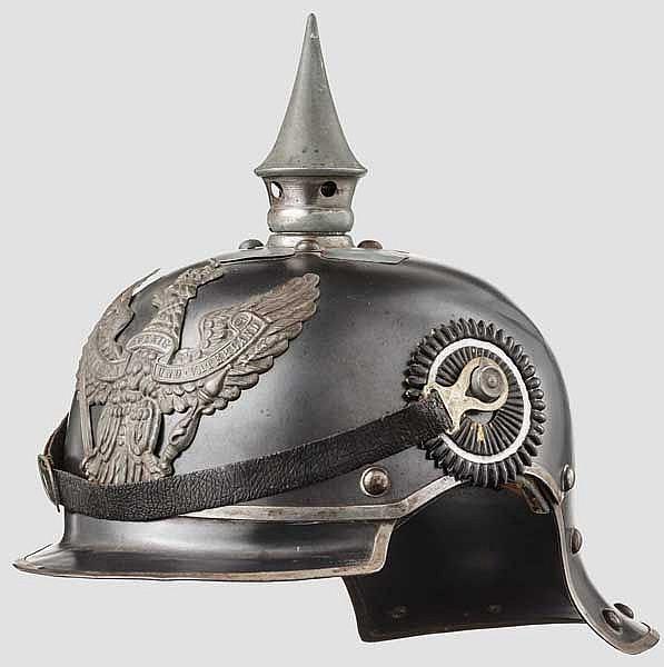 Helm M 1915 für Mannschaften der Regimenter Jäger zu Pferd
