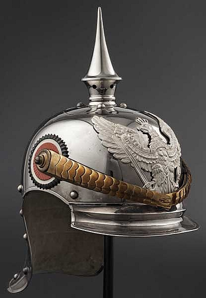 A helmet M 1905 for an Ensign in Horse Jäger Regiments 1 through 7