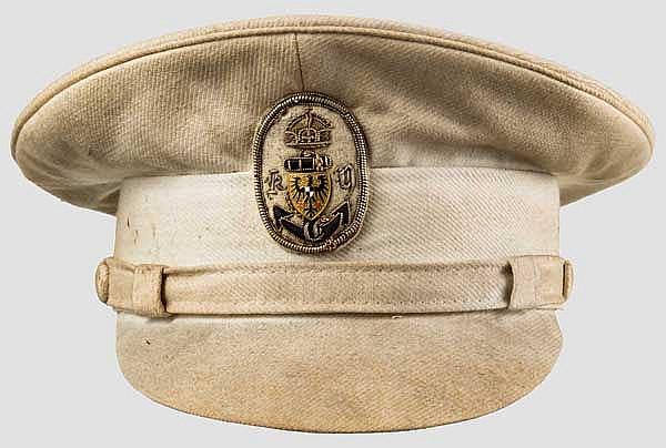Sommerschirmmütze für Mitglieder des Kaiserlichen Yachtclubs