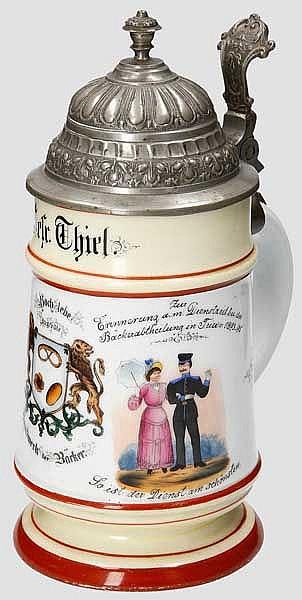 Preußen - Bäckerabteilung Trier 1893-95