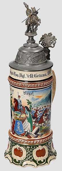 Sachsen - 3. Eskr./2. Kgl. Sächs. Königin Hus. Rgt. Nr.19 Grimma 1901-04