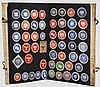 Sammlung von Briefverschlußmarken bzw. Siegelmarken