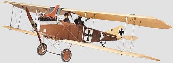 Albatros C-III mit Kennzeichen C106